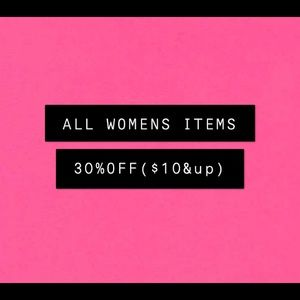 🔥ALL WOMEN'S ITEMS 30%OFF🔥